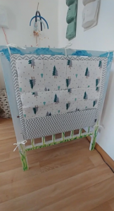 Baby Bed Hanging Storage Organizer Toy Bag photo review