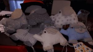 Baby Crib Bumper Protection Soft Infant Animal Elephant 6 Pcs photo review