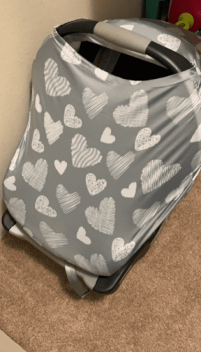 Baby Nursing Breastfeeding Cover Car Seat photo review