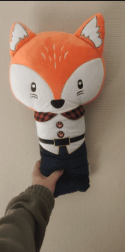 Baby Cute Seat Belt Cover Pillow Soft Plush Cartoon Toy photo review