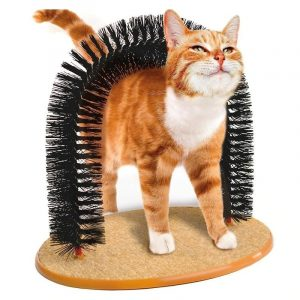 Cat Arch Self Grooming Hair Cleaner Massaging Brush Toy