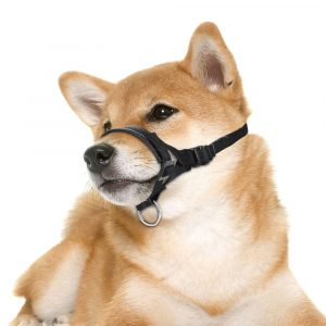 Dog Soft Padded Anti-Biting Barking Adjustable Loop Muzzle