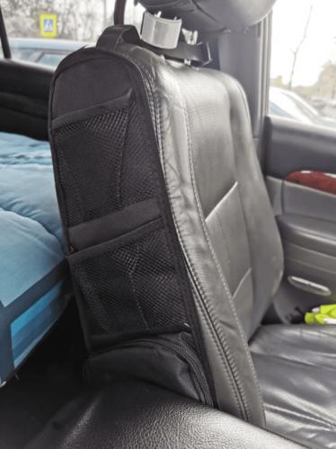 Car Seat Side Storage Organizer Mesh Pocket Hanging Bag photo review