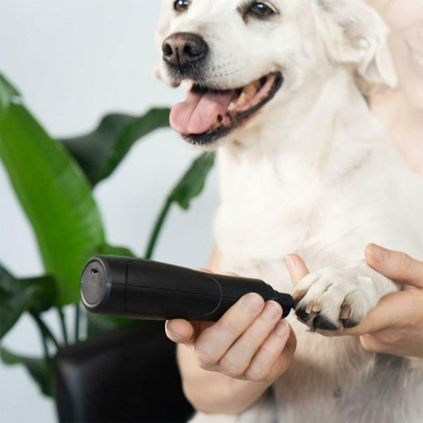 Pet Dog Nail Grinder Rechargeable USB Nail Clippers Set