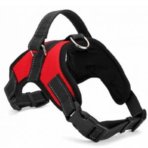 No Pull Dog Harness Vest Reflective Breathable Adjustable with Handle