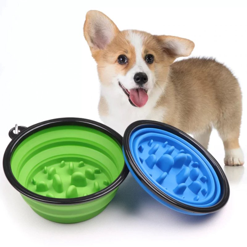 Pet Portable Feeding Bowl Collapsible Food and Water Bowl