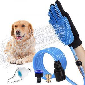 Pet Shower Gloves Bathing Groomin Gloves Massage