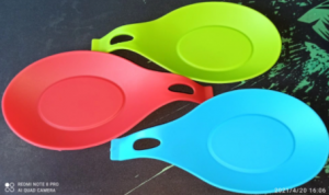 Spoon Holder Silicone Heat Resistant Food Grade photo review