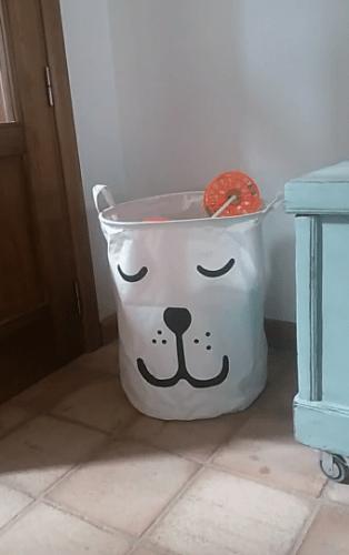 Storage Basket Large Bag Cotton Home Organizer photo review