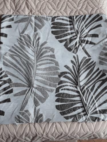 Pillow Case Cushion Cover Plant Pattern Velvet Style photo review
