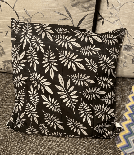 Pillow Case Cushion Cover Black White Geometry Hot Modern Decorative photo review