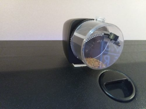 Fish Automatic Feeder LCD Display Timer Feeding Dispenser photo review