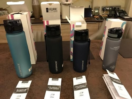 Water Bottle 350ML-1000ML Tritan and Reusable with Leak-Proof Lid No-Toxic photo review