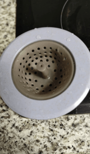 Portable Silicone Sink Strainer Waste Plug Sink Filter Waste Collector Kitchen Bathroom Accessories Colanders & Strainers photo review