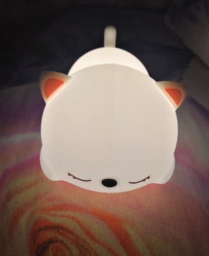 Cat Night Lamp with Remote Control USB Rechargeable Touch Sensor photo review