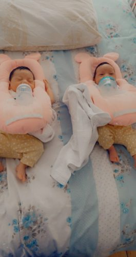 Baby Nursing Pillow Cushion Bottle Rack Free Hand Bottle Holder photo review