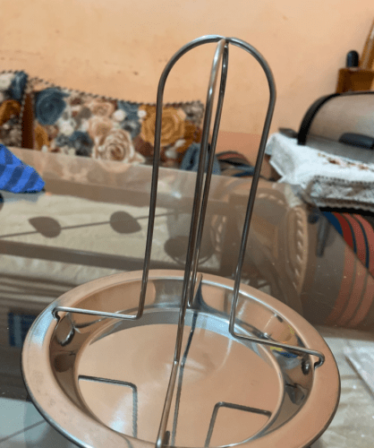 Chicken Roaster Rack Stainless Steel Grilling Accessories photo review