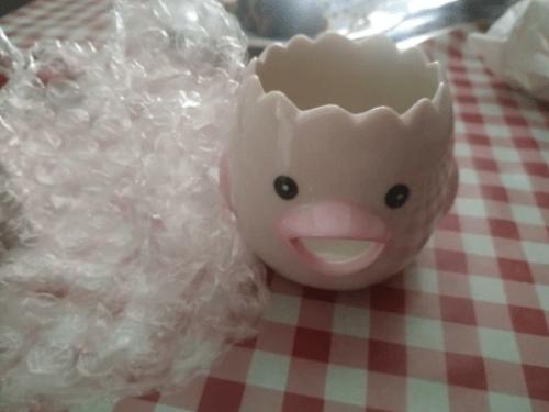 Cartoon Chicken Egg Yolk White Separator Ceramics photo review