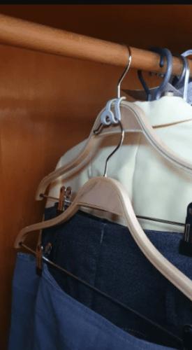 Clothes Hanger Creative Mini Antislip photo review