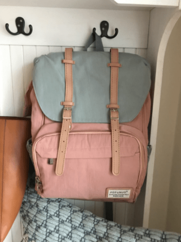 Diaper Bag Backpack with Fast Bottle Warmer photo review