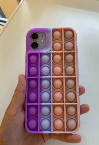 iPhone Case Pop It Bubble Organic Silicone Shockproof photo review