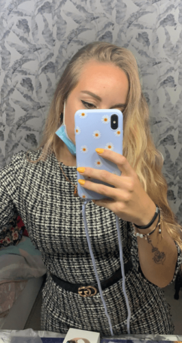 iPhone Case with Necklace Lanyard Rope photo review