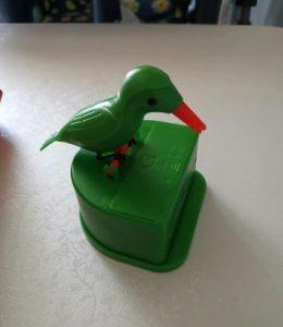 Bird Toothpick Dispenser Push-type Automatic photo review