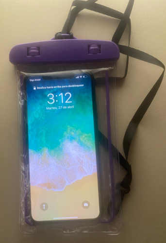 Waterproof Phone Case Clear Cover Universal photo review