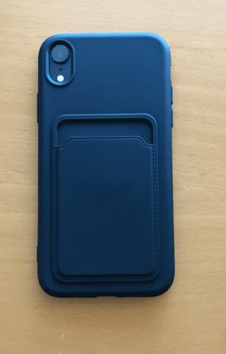 iPhone Case with Card Holder TPU Wallet Soft Back Cover Shockproof photo review