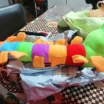 Worm Plush Toy Stuffed Colorful Caterpillar Doll photo review