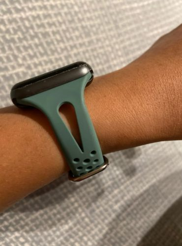 Apple Watch Band Slim Silicone Sports Strap photo review