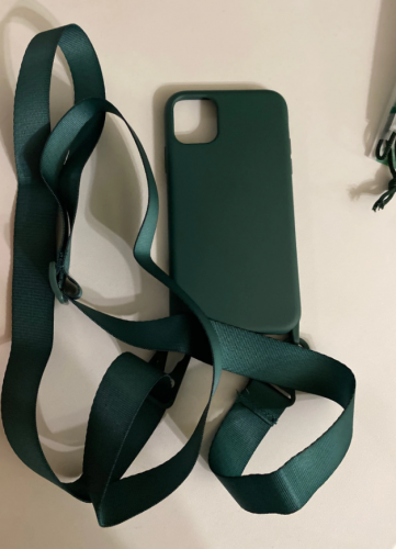 iPhone Case With Neck Strap Crossbody Necklace Cord photo review